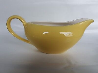 Vintage J&G Meakin 'Summertime' Gravy Boat with underplate