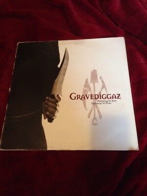 "Hip Hop Rap 12"" Vinyl Record GRAVEDIGGAZ NOWHERE TO RUN INC PORTISHEAD REMIX"