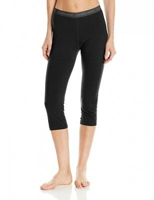 (Large, Black) - Icebreaker Women's Oasis Legless -. Shipping Included