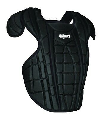 (41cm , Black) - Schutt Sports Scorpion 2.0 Chest Protector. Shipping is Free