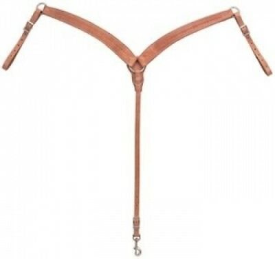 Weaver Leather Barbed Wire Tooled Breast Collar. Free Delivery