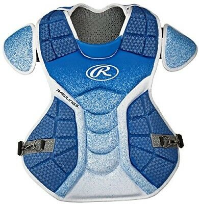 (Royal/White) - Rawlings Sporting Goods Catchers Chest Protector Velo Series