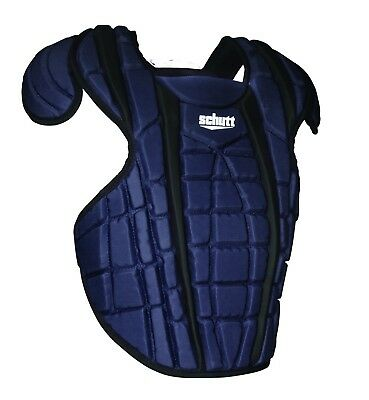 (33cm , Black/Navy) - Schutt Sports Scorpion 2.0 Chest Protector. Free Delivery