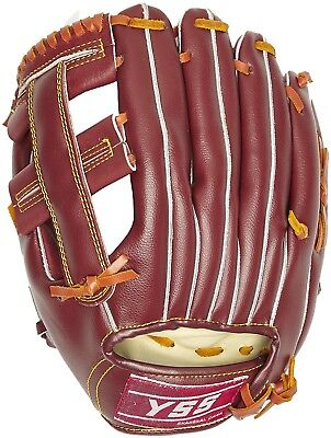 (One Size, Light Brown) - SCHREUDERS SPORT Right-Handed Leather Baseball Gloves