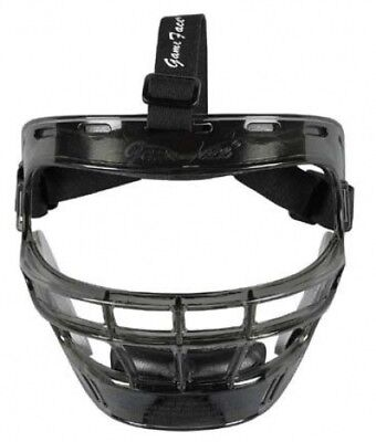 Game Face Medium Smoke Sports Safety Mask with Black T-Harness. Best Price