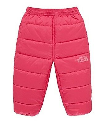 (6 Months, Pink/cabaret Pink) - The North Face Kids Reversible Perrito Trousers