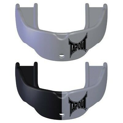 (Silver) - Tapout Mens 2 Pack Mouthguards. Brand New
