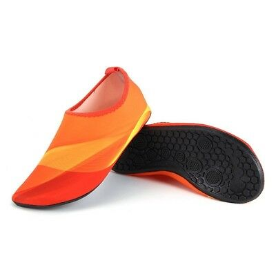 (XX-Large, Orange) - Lovers Flexible Quick Dry Water Sport Shoes for