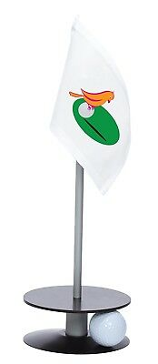Anne Stone Golf Putt-A-Round Orange Birdie Flag 1 Putting Aid, Black, Small