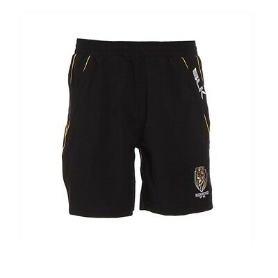 (80cm , 80cm ) - BLK Richmond tigers AFL gym shorts [black]. Free Shipping