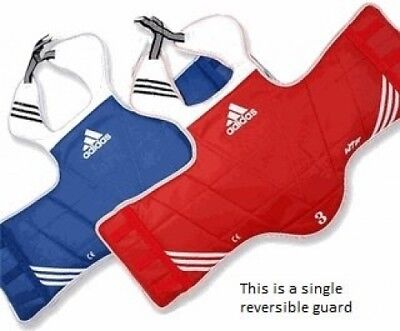 ADIDAS REVERSIBLE CHEST GUARD PROTECTOR - size XXL No.6. Free Delivery