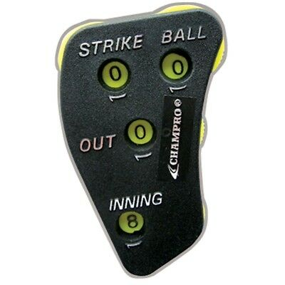 (One Size Fits All) - Champro Umpire 4 Dial Indicator. Free Delivery