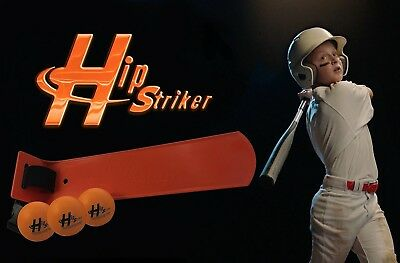 Hip Striker - Baseball Swing Trainer & Golf Training Aid. Shipping is Free