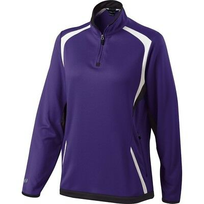 (Medium, Purple/Black/White) - Holloway Ladies Transform Pullover. Free Delivery