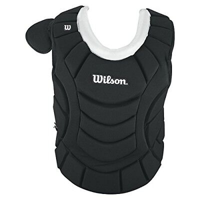(Youth 32cm , Navy) - Wilson MaxMotion Catcher's Chest Protector. Free Delivery