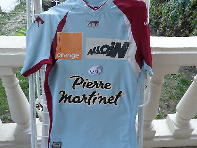 Maillot rugby vintage BOURGUOIN JALLIEU 2006/07