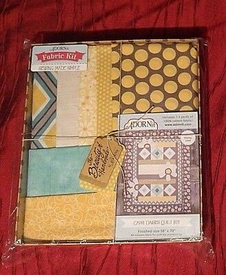 """Quilt Kit ADORNit Capri Daisies BRAND NEW rrp £89.99 Finished Size 58"""" x 70"""""""