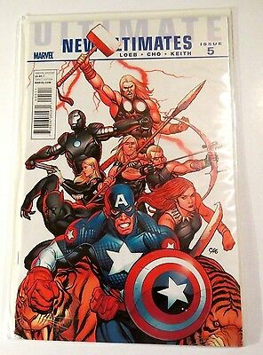 Ultimate New Ultimates Issue 5 Marvel modern Age Comic CB1138
