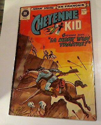 Cheyenne Kid #12 Edition heritage (French) Bronze age Comic CB1541