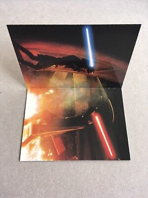 MINT #1/5 Panoramic Fold-Out Card / Star Wars Episode II Attack Clones