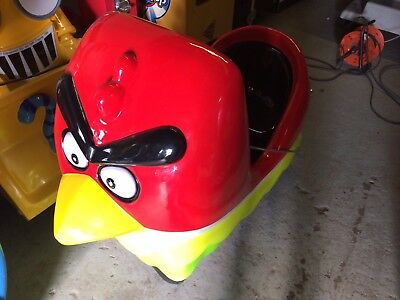 Coin Operated Angry Bird Kiddie Ride