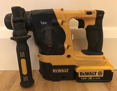 Dewalt DCH213 Cordless 18V SDS Hammer Drill with 4.0Ah Battery