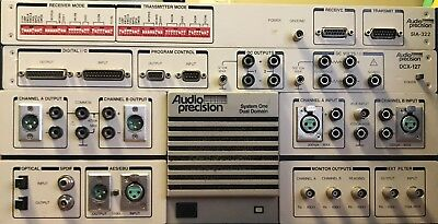 Audio Precision System One Dual Domain Audio Tester with DCX-127 & SIA-322