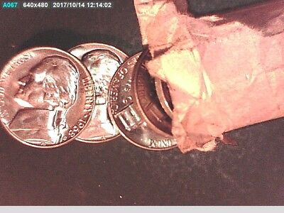 1968 S Jefferson Nickels Very High Ms/bu Purchased In 1968 5 Cent Coins