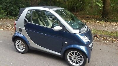 Smart fortwo 0.7 City Grandstyle Convertible 2dr