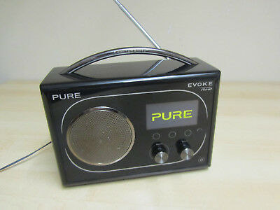 Pure Evoke Flow RDS, AM/FM, DAB, WiFi Internet Radio + AUX
