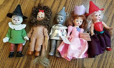 5 Madame Alexander Dolls - McDonalds happy meal toys - Wizard Of Oz - with tags