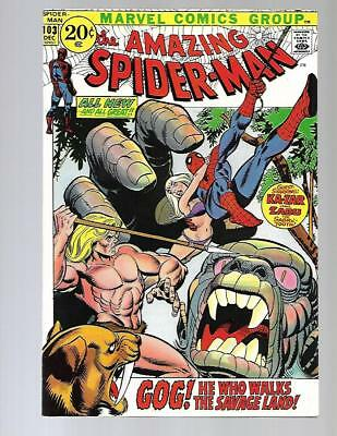 AMAZING SPIDER-MAN #103 VF- High Grade Kazar 1st Gog Marvel Bronze Age Comic