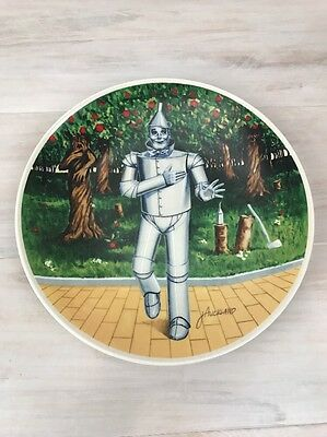 Tin Man Wizard Of Oz Knowles If I Only Has A Heart Collectors Plate Ltd. Ed.