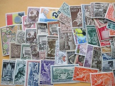 Nice collection (lot) of 85 Vatican City