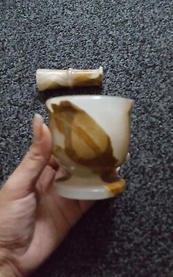 Pestle And Mortar Small Marble 99P Start Decorative **never Used**