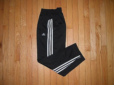 EXCELLENT CONDITION Adidas 3 Stripes Training Pants Youth Size LARGE