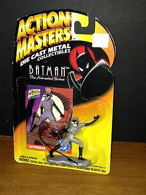 Action Masters Die Cast Metal The Animated Batman Catwoman Kenner 1994 New!!!!!!