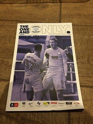 Preston North End V Arsenal- January 2017- Fa Cup- Official Programme