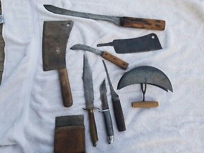 antique knife collection