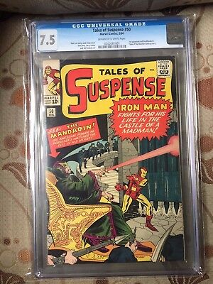 Tales of Suspense #50 CGC 7.5 BEAUTIFUL