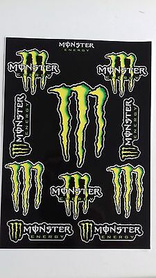 MONSTER ENERGY Autocollant sticker Car Bike Moto ride decals (30x21 cm)