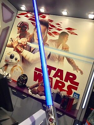 Disney Parks Star Wars The Last Jedi Rey Lightsaber Removable Blade with Button