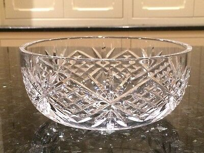 GALWAY CRYSTAL BOWL signed