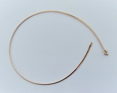 14 K Gold Choker Necklace 13.6 Grams 18 Inches
