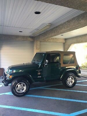 2001 Jeep Wrangler  Good condition 2001 Forest Green Jeep 4.0 Sahara NO RESERVE MUST SELL NEED GONE!