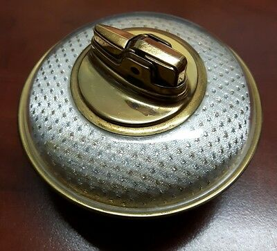 Ronson Decor Table Lighter from 1950s.  Newark N.J. U.S.A. Flying Saucer Style