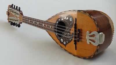 Mandolin Antique German Instrument