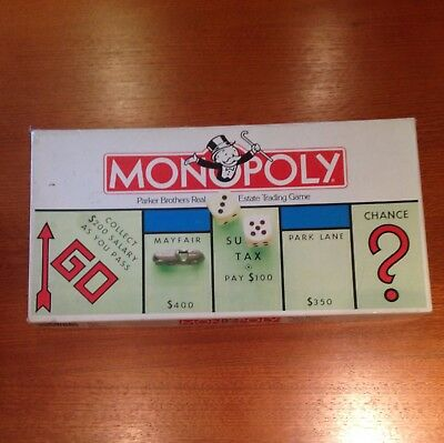 Monopoly Board Game Original Parker Brothers Great Condition