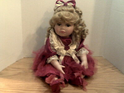 Paridise Galleries Marie Osmond Paradise Holiday Rose Doll