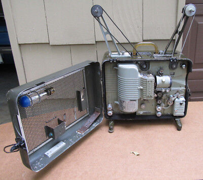 U.S. Army Devry 16mm Movie Projector QAQ-2A For Parts or Repair,  Pickup Only